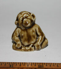 Wade Monkey Chimpanzee Red Rose Tea Figurine First US Series 1983-1985 England