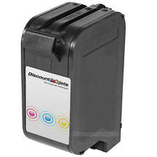 Remanufactured C1823D for HP 23 Tri COLOR Inkjet Cartridge OfficeJet 1170C T65xi