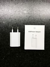 New Genuine Original Apple Power Adapter Wall Charger USB EU iPhone X/8/7/6s
