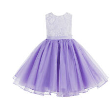Lace Flower Girl Dresses Organza Dresses Birthday Girl Dress Graduation Dresses