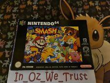 Super Smash Bros. - Boxed (Nintendo 64, 2002)