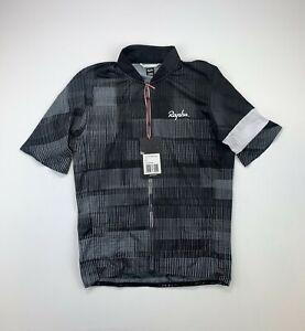 RAPHA Flyweight Printed Jersey Black / White Size XS New