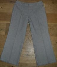 MARKS & SPENCER Simple, Smart Light BOOTCUT TROUSERS No Pockets UK 16S L27