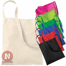 Sling tote shopping bag plain 100% cotton enviromental Westford Mill