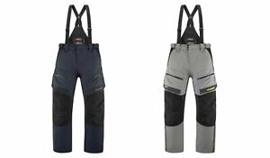Icon Men's Raiden Waterproof Overpants Bibs Pants for Motorcycle Street Riding