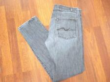 7 FOR ALL MANKIND Roxanne BLACK SKINNY Jeans...size 30X31