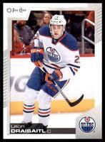 2020-21 UD O-Pee-Chee Base #1 Leon Draisaitl - Edmonton Oilers