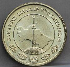 Turkmenistan - 10 Tenge 2009 - KM# 98 - nice!