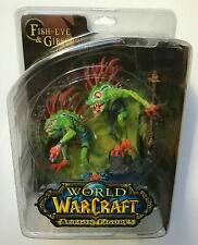 Fish Eye Gibbergill Murloc Red Variant World of Warcraft WOW Figur DC Direct