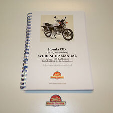 Honda CBX 1000 Six Factory Workshop Shop Manual Book. Reproduction. HWM049