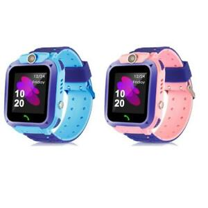 BT Children's SOS Phone Smartwatch Kids Sim Card Waterproof for IOS Android Q12