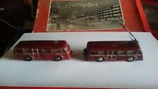 EWF eheim brawa trolleybus trolebus COLLECTORS COLECCIONISTA. EWF circa 1945