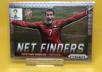 2014 Panini Prizm World Cup Soccer Card Cristiano Ronaldo Net Finders