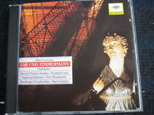 CD Albert Lortzing zar e Zimmermann highlights estratti NUOVA CD
