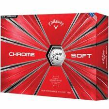 BNIB Callaway Chrome Soft Golf Balls White 2 Dozens