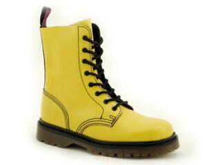 Nevermind  8 Loch Boots Yellow 12-110080-08 !Kein Fernost Import !