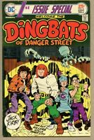 First Issue Special #6-1975 fn+ 6.5 Kirby 1st Dingbats Of Danger Street