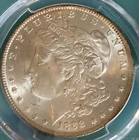 PCGS Certified MS63 Morgan Silver Dollar 1888 TOP 100 S$1 VAM 11 Doubled Ear