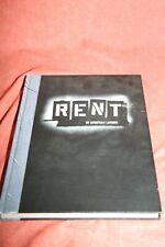 Rent Hardcover – libretto, pics, interviews- 1997- Larson -great shape !