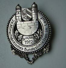 1912 Schützenabzeichen - 26 Mittelfränkisches Bundesschiessen in Lauf, Deschler