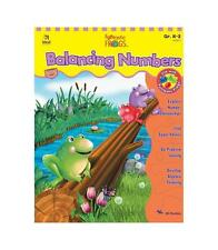 School Lesson plan book VERY GOOD Home K-2 Balancing Numbers problem solving