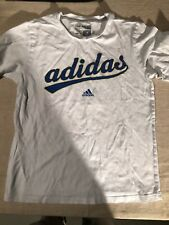 PRE OWNED ADIDAS KIDS  THE GO-TO TEE SHORT SLEEVE T-SHIRT UNISEX 14/16 LARGE