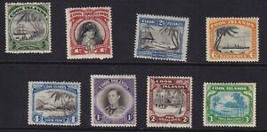 COOK ISLANDS 1944 mint set (ex 2d) hinged mint (0819)