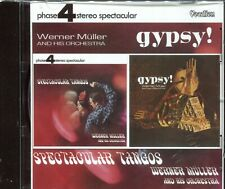 Spectacular Tangos / Gypsy! by Werner  Muler (CD, Mar-2007, Vocalion)