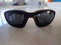 Motorcycle Riding Goggles Glasses Black Tinted Lens Harley Davidson Cafe Racer