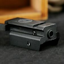 Low Profile Tactical Red Laser Sight 20mm Picatinny Weaver Rail Mount For Pistol