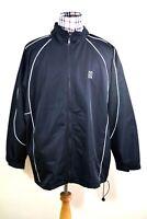 Nike Mens Black Rain Training Full-Zip Running Jacket 2XL
