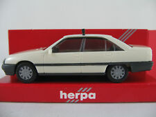 "Herpa 4009 OPEL OMEGA A GLS BERLINE (1986) ""taxi"" en blanc crème 1:87/h0 Nouveau/Neuf dans sa boîte"