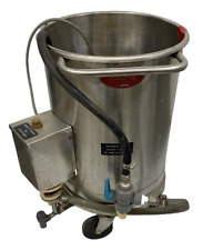 Oscar Fisher 15 X 20 Stainless Steel Tank With Pump 2 Available