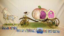 Walt Disney Showcase Jim Shore Cinderella An Enchanted Coach Awaits You New