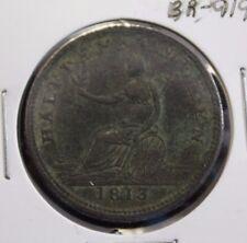 1813 Half Penny Field Marshall Wellington WE-1A3 - BR 919