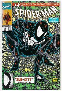 Spider-man #13 Marvel Comics 1991 VF+ McFarlane Art