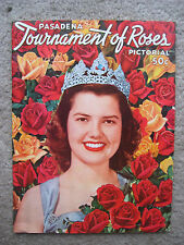 1953 Tornament of Roses pictoral program USC Trojans Wisconsin Badgers