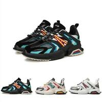 Mens Fashion Running Sports Walking Breathable Athletic Sneakers Casual Shoes