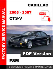 2006 2007 CADILLAC CTSV CTS-V 6.0L ENGINE SERVICE REPAIR WORKSHOP FACTORY MANUAL