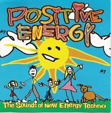 POSITIVE ENERGY ~ The Sounds of New Energy Techno ~ CD Album ~ Like NEW!