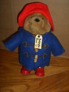 """Paddington Bear Plush 11""""  P & Co 2004"""