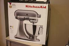 Kitchenaid Contour Silver 5KSM95PSBCU with Pouring Shield