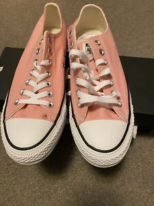 Converse Chuck Taylor All Star OX Sneaker, 164936F Unisex: M:8.5, W 10.5 Pink