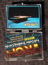 1981 Donruss TRON Trading Card SET of 66 + 1 Wrapper NM 9.4 Walt Disney