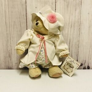 Hallmark Mary Mary Bearworthy Soft Plush Bear Hat Victorian Dress