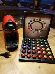 Krups Inissia XN...510 Kapselmaschine Nespressoautomat, Ruby Rot