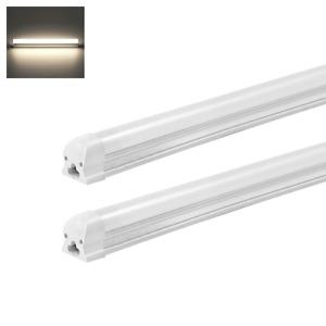 2er Pack LED Leuchtstoffröhre Komplett Set mit Fassung 120cm 18W T8 Lichtleiste