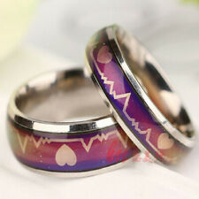 Mood Temperature Change Ring Color Changing Emotion Feeling Jewelry Color Rings