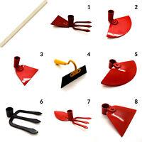 Hoe Cultivator Hand Fork Digging Dutch Wooden Handle Gardening Tool Garden