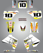 Full  Custom Graphic  Kit - Storm style - Suzuki RM 250 / 1989 - 1992 stickers